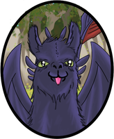 104 Llama Toothless by Biscuitmonstergirl1