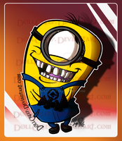 Despicable Me Minion by DollCreep