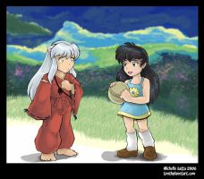 Inuyasha's Ball by Caliosidhe
