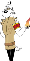 Fire Dudley by ChameleonCove