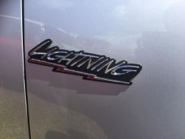 Ford F-150 lightning badge by Car-lover33