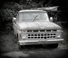 Old truck by Ranae490