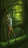 Viera in the Woods by Parcel-Sisters