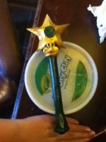 Sailor Jupiter star wand (almost done ^_^) by lilYumi-chan