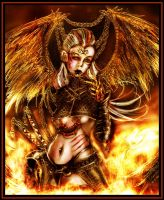 Lady of the Lake of Fire by liquid999