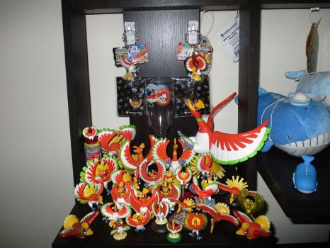 Ho Oh Figure Collection by doryphish333