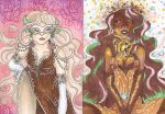 Aceo commission special- Nickyflamingo x2 by Unisamas