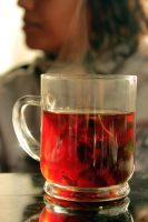 A cup of tea by Sale7