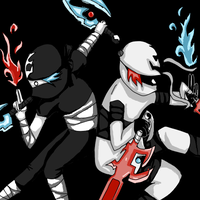 the ying yang ninjas by canned-sardines