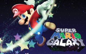 Mario Galaxy Wallpaper by MC2009