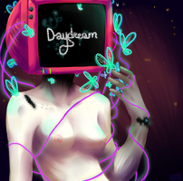 Do androids dream of electric sheep by Captain-Hotpants