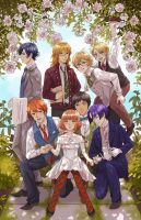 Uta no Prince Sama: Garden Party by b-snippet