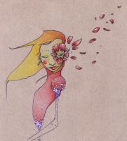 lady flower by ElisaNickless