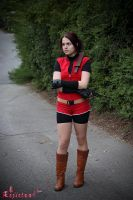 Claire Redfield RE2 cosplay VII by Rejiclad