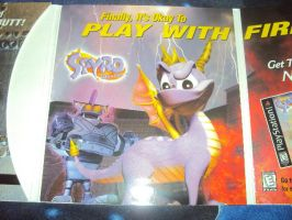 Spyro The Dragon Case and Demo Disk 8 by RedDevilDazzy2007