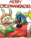 Merry Christmahannaquanzaka by WolfyTails