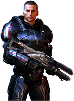 Male Shepard Heavy N7 Suit by IvanCEs