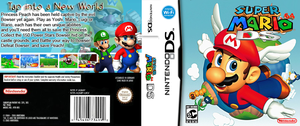 Super Mario 64 DS Custom Cover by StarfireEspo