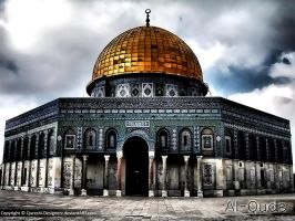 Al-Quds | The Dome of the Rock by Qureshi-Designerz