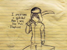 A Stephano Quote by UnitInfinity