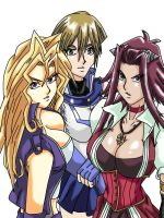 Yugioh 10th: Lady Duelists by Wyvern07