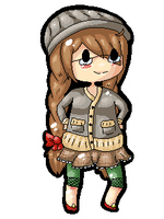 Amae page doll by Potatobadger