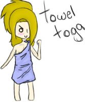 TOWEL TOGA!! by AskDeidaraAnything
