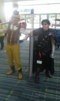 Guts with Male Mami by NokturnaMortum