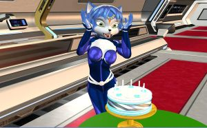 Happy Birthday Krystal by HectorNY