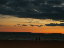 sunset in Palma by ale-sensee