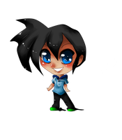 Chibi For NegiKurako by Samhain-Voodoo