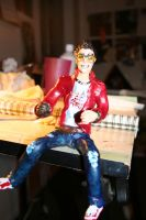 Travis Touchdown action figure by Farlo