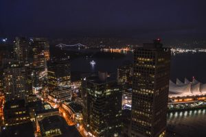 Night in Vancouver by dashakern