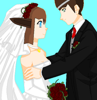 Me And Gem's Wedding by V1EWT1FUL