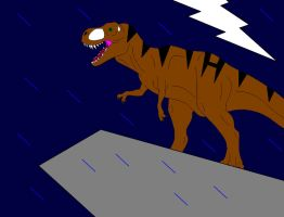 The New Tyrannosaur King by Dinossword