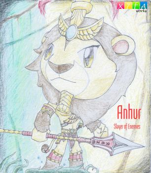 Anhur (Smite) by xander64lmh