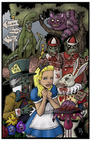 Alice in Zombieland by Tollbooth10