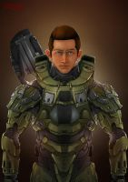 Halo Armored Brother. by MakingPicsSlowly
