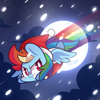 Rainbow Santa by ILifeloser