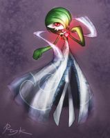 Gardevoir by Ray-kbys
