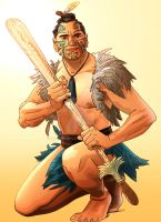 Maori Hunter by CarlPearce