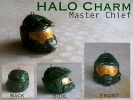 Master Chief Charm by GandaKris