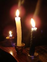 Candle Light by silber-stock