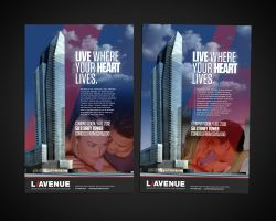 Lavenue Poster by sounddecor