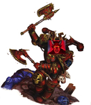 Chaos Space Marine Satan by TheTwelfthDoctor1