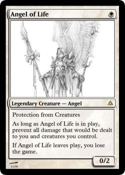 Angel of Life by LaggyMcLagster