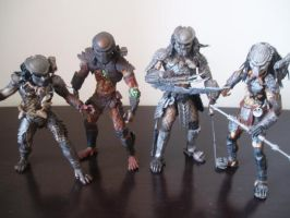 Predator Figures by Ronniesolano