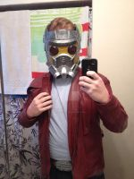 Starlord Mask Completed by GingerBaribuu