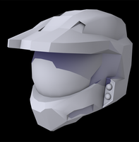 Halo 3 Helmet WIP by Keablr