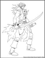 Makai-Lineart by arvalis